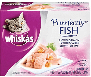 food for cat - whiskas fish
